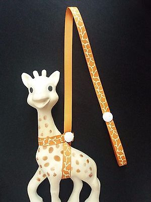 Natural Sophie the Giraffe Strap,Toy saver/Cheap!/buy2 get1 50%off/limited offer