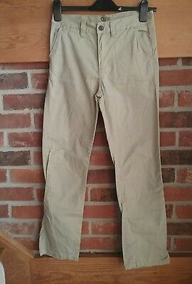 Boys Denim And Co Stone Chinos Age 12-13 Years