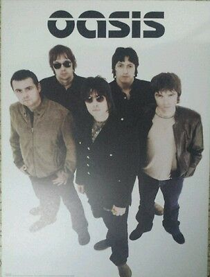 Original Oasis Promo Poster~ 2000 Standing on the Shoulder of Giants~Unused~Rare