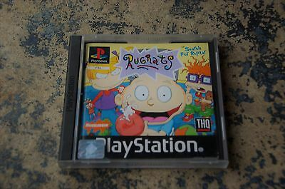 RUGRATS SEARCH FOR REPTAR - Sony PlayStation PS1 Game PSone