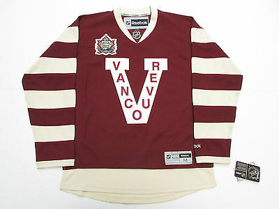 Bo Horvat Vancouver Canucks 2014 Heritage Classic Reebok Premier Hockey Jersey