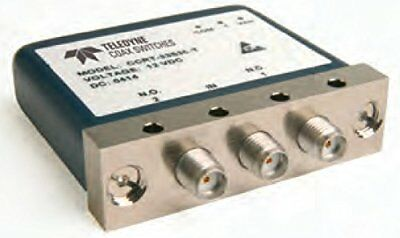 Teledyne Relays CCRT-33S60-T Electromechanical Broadband Coaxial Switch