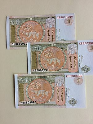 3 Mongolia *Tugrik* Bank Notes.. Collectible/ or use for Teaching/ Crafts.