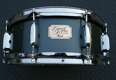 """Pearl 5 1/2"""" X 14"""" Export wood shell snare drum!"""