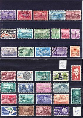 USA01    165 timbres différents Obl