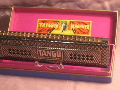 Extremely Rare Vintage TANGO M.Hohner Harmonica-1930s. Made in Germany