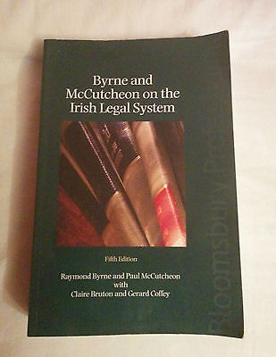 Byrne and McCutcheon on the Irish Legal System - Fifth Edition - 2009 Law Book
