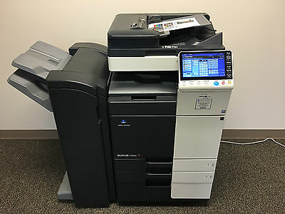 Konica Minolta Bizhub C284e Color Copier Printer Scanner Network Fax & FS-534