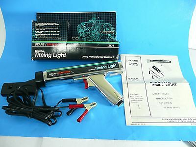 Vintage Sears/Craftsman Inductive Timing Light #92134 with Original Packaging