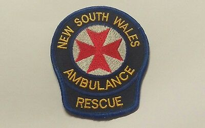 New South Wales Nsw Rescue Ambulance Service Patch / Badge