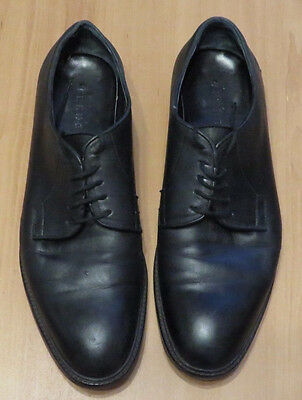 Trenery By Country Road Black  Leather Shoes In Ec Size 44