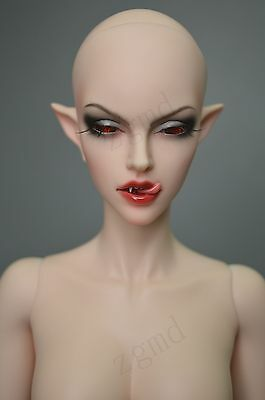 1/3 bjd doll only doll head with face make up
