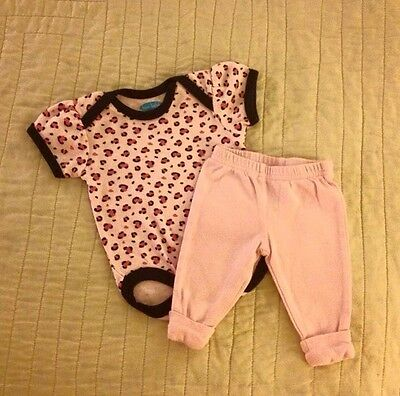 [0-3m] EUC Cute Baby Girl Outfit/Set