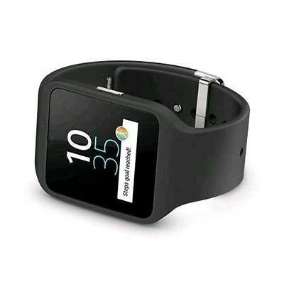 """Sony Smartwatch 3 Swr50 Smartwatch 1.6"""" Touchscreen Bluetooth Android Wear Itali"""