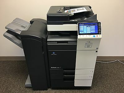 Konica Minolta Bizhub C224e Copier Printer Scanner Network LOW 71k total pages