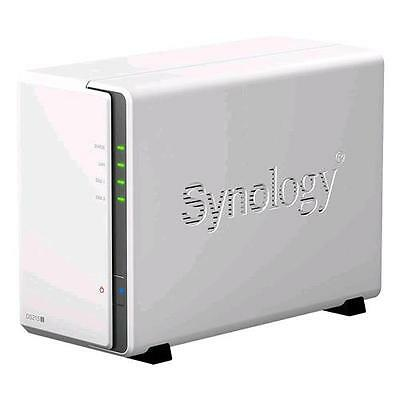 """Synology Ds216J  Nas Chassis Desktop 2 Bay Hdd/ssd Hot-Swap Formato 2.5""""/3.5"""" In"""
