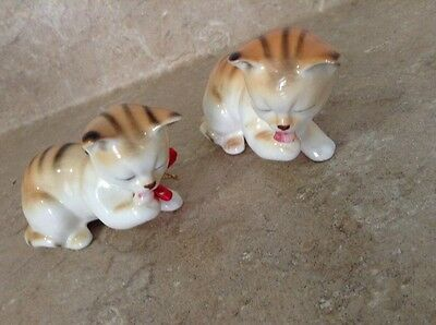 Vintage Cat Ornaments