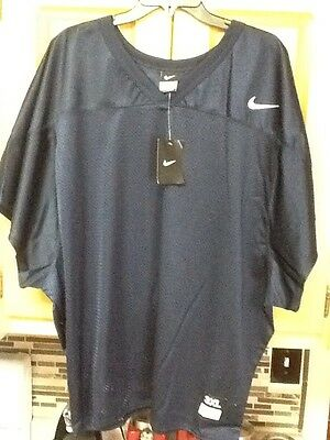 Men's Blue Nike Football Jersey Size 3XL