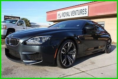 2015 BMW 6-Series M6 GRAN COUPE TWIN TURBO IMMACULATE NO RESERVE!! 2015 BMW M6 GRAN COUPE TURBO IMMACULATE FLORIDA NO RESERVE!!