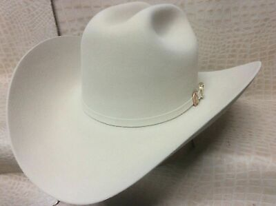 6036e30936b94 New Mens Larry Mahans Cruz de Oro Belly 30X Beaver Fur Felt Western Cowboy  Hat