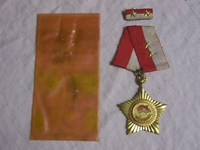 VC NVA Viet Cong NLF Order of Liberation pre-1968 Complete 100% Orig from Vet!