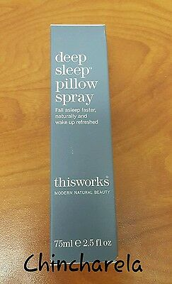 This Works Deep Sleep Pillow Spray  75 Ml / 2.5 Oz  New In Box