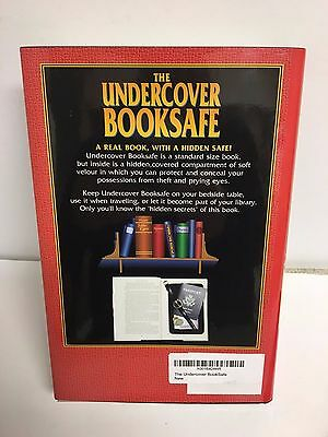 HIDDEN SECRET DIVERSION: The Undercover Book Safe with Hollow, Hidden Safe for a