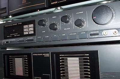 Sansui Collectable Amp - B-3000 Plus Srereo Control C-1000...and Manuals/remote