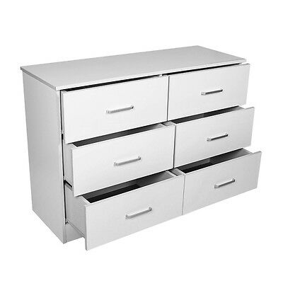 Redfern 6 Drawers Chest/Lowboy/Dressers - White