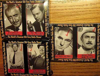 World's Greatest Old Time Radio Shows on cassette Gildersleeve Riley Have Gun