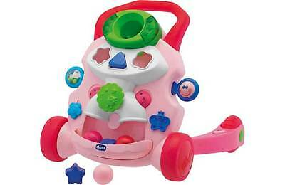 Chicco Baby Steps Activity Walker - Pink. From the Official Argos Shop on ebay