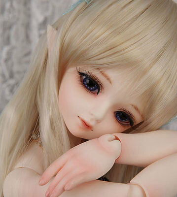 1/4 BJD Doll SD Baby Girl Luts 13s Kid Delf Hodood Body Toy Doll Free Makeup 04