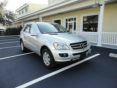 2007 Mercedes-Benz M-Class 320 CDI Diesel 4Matic 2007 Mercedes Benz ML320 CDI Diesel  AWD GPS Two Owners Great Shape Clear Title