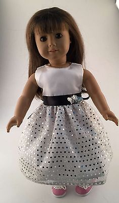 2016 fashion clothes dress for 18inch American girl doll party b169 b361