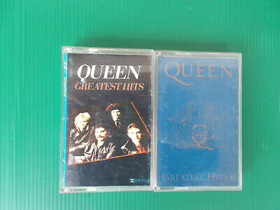 Queen Greatest Hits Ii Musicassetta K7 Tape Come Nuova Look