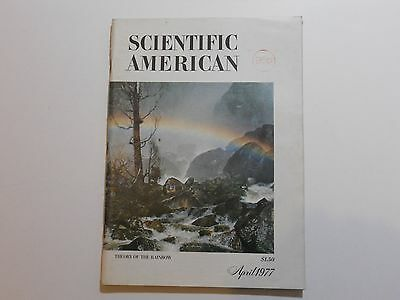 Scientific American Magazine: April 1977 Theory Of The Rainbow