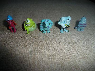Miniture Monsters Inc Character Toys