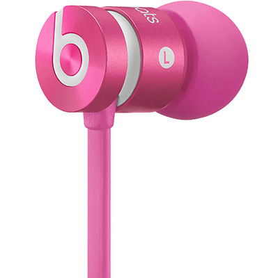 Beats by Dr. Dre urBeats In-Ear Only Headphones Earbuds - Pink