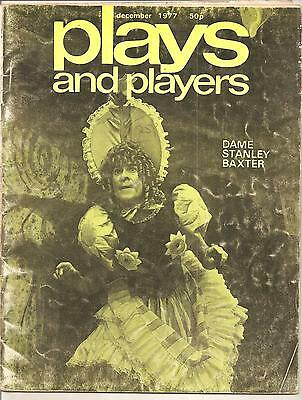 Plays And Players Magazine  December 1977