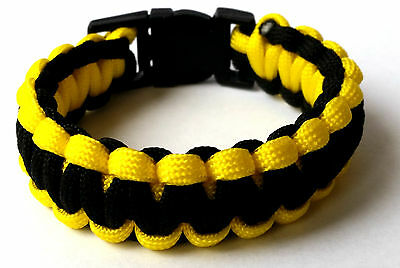 Camping Parachute Cord Emergency 550 Paracord Bracelet Survival, Free shipping!