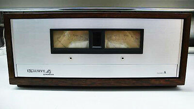 1974 Pioneer Exclusive M4 Vintage Stereo Power Amplifier Made in Japan Hand Made