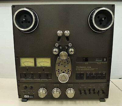 Technics RS-1506U Reel-to-Reel, Open reel deck, 4-track deck Worldwide Shipping