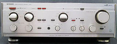 1983 LUXMAN L-510X Transistor AMP MIJ Vintage Integrated Amplifier Made in Japan