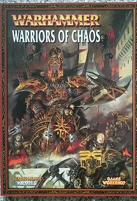 Warhammer Warriors of Chaos Army book