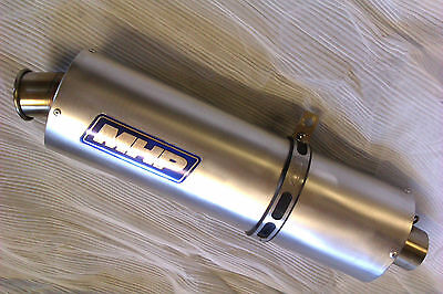 MHP Clubman Race Silencer-trackday  noise db legal slip on 50,52,54,57,60,65 mm