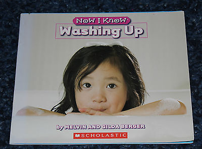 Now I Know Early Reader Washing Up by Melvin and Gilda Berger