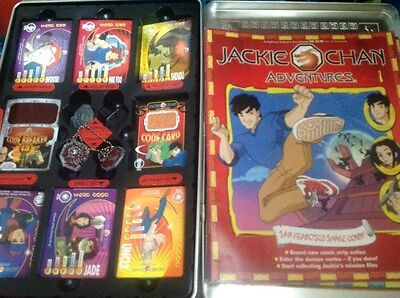jackie chan adventures talismans and card set +7mags Incomplete