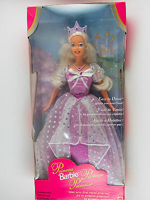 Mattel Barbie Princess Doll 1997 in Box