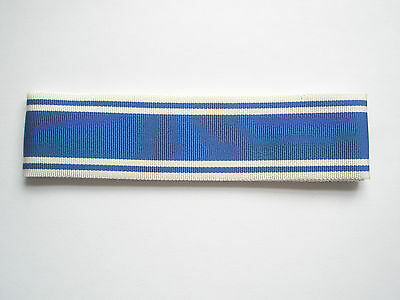 Police Exemplary service medal ribbon 1 metre