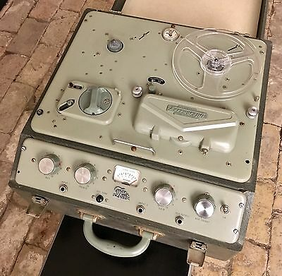 Ferrograph Series 4 Reel To Reel Tape Recorder Working Order But Needs A Service
